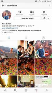 Flirten op instagram