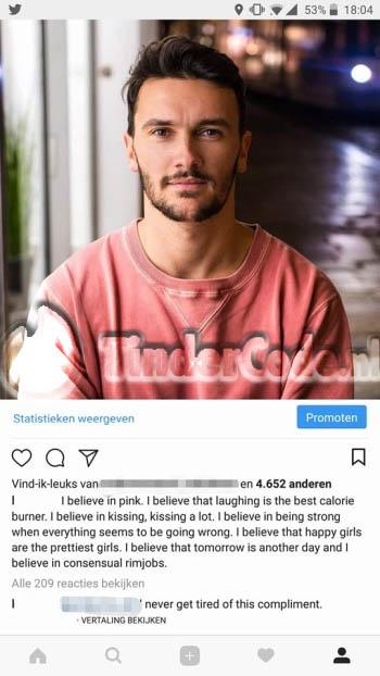 Flirten instagram